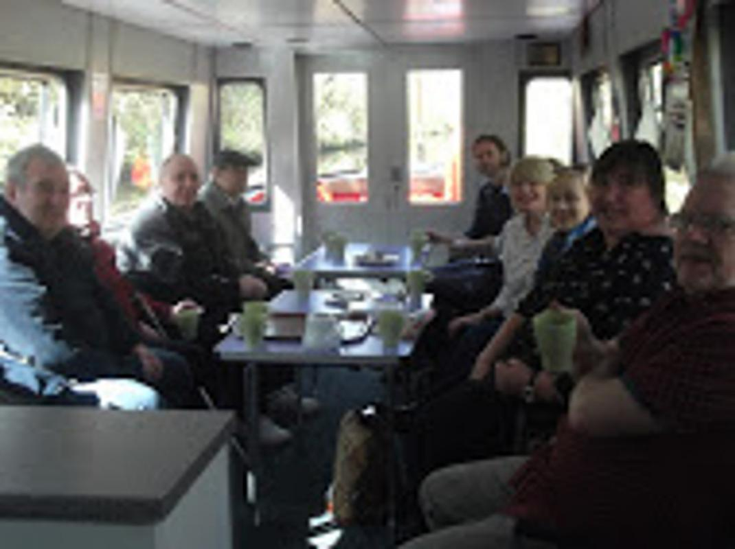 Community & Vocation - Guests aboard this year's barge trip